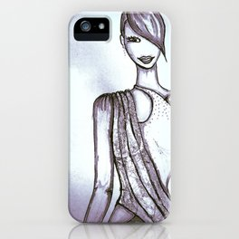 The Shiny Model iPhone Case