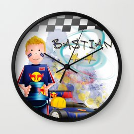 FX Bastian Wall Clock
