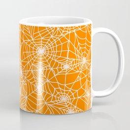 Pumpkin Cobwebs Coffee Mug