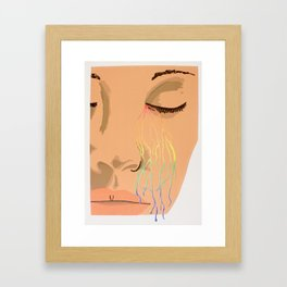 Chromatic Lamentations Framed Art Print