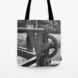 Gears and grease Tote Bag