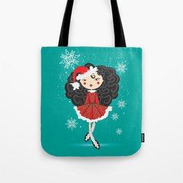The Reel Santa Tote Bag