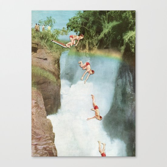 Diving Board Canvas Print