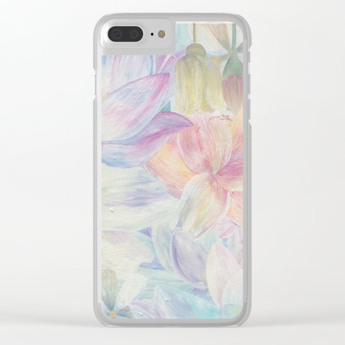 All the colors Clear iPhone Case