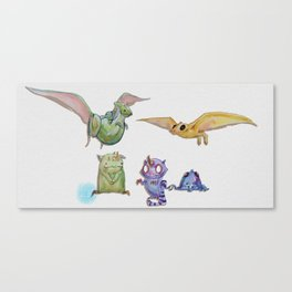 Monster Parade! Canvas Print