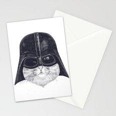 Darth Cat Stationery Cards