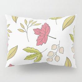Autumn Fall Maple Leaves Pillow Sham
