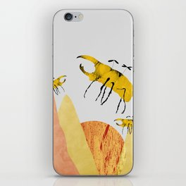 scarab field iPhone Skin