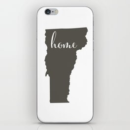 Vermont is Home iPhone Skin
