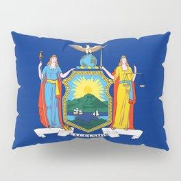 flag state of new york,america,usa,Empire State,big apple,New Yorker,Albany,Broadway,Manhattan,Bronx Pillow Sham