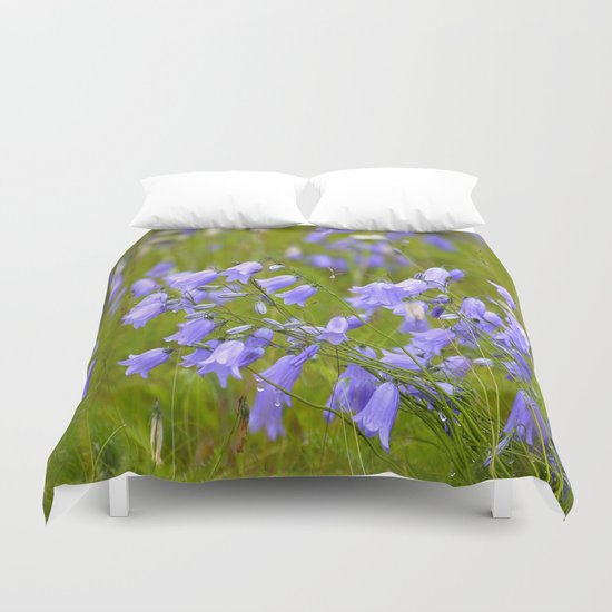 Bluebells Meadow  Duvet Cover