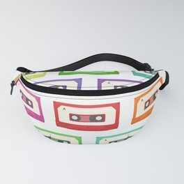 Cassette Tapes Fanny Pack