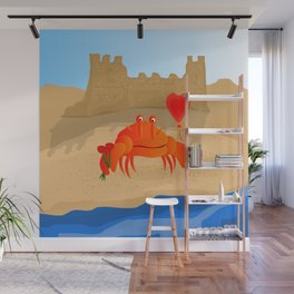 Crabby Suitor Wall Mural