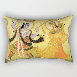 Krishna - Hindu Rectangular Pillow