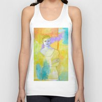 chef Tank Tops featuring Chef by lizmcdonaldstudio.com