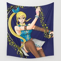 wizard Wall Tapestries featuring Celestial Wizard by ApocalypseToo Studios