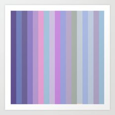 New Stripes # 5 Art Print