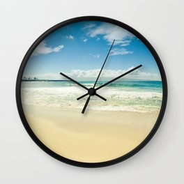 Kapalua Beach Honokahua Maui Hawaii Wall Clock