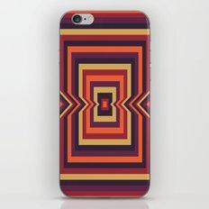 Squared Vortex iPhone & iPod Skin