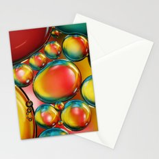 Bubble Drops IV Stationery Cards