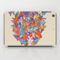 birdy iPad Cases featuring Birdy by Julia Sonmi Heglund