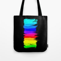 pride Tote Bags featuring Pride by Blind River