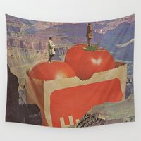 jesse pinkman Wall Tapestries featuring a woman's place by Jesse Treece