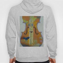 Violin Butterflies Hoody