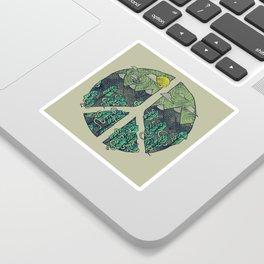 Peaceful Landscape Sticker