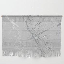 Silver Splatter 089 Wall Hanging