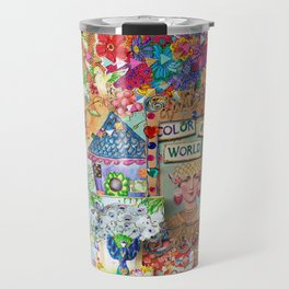 Colour my world Travel Mug