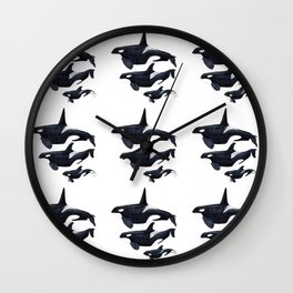 Orca design Wall Clock