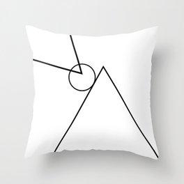 Tri. Throw Pillow