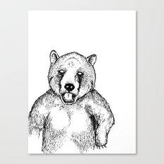 Cold Bear Canvas Print
