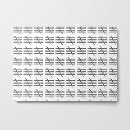 TALLY2.4 Metal Print
