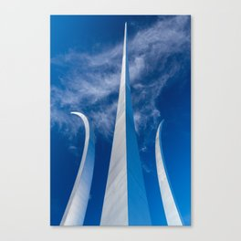 Steel Spires Toward Heaven Canvas Print