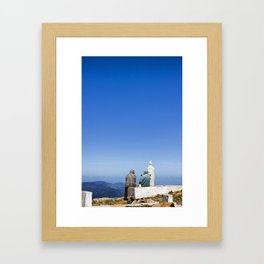 Mount Alam Framed Art Print