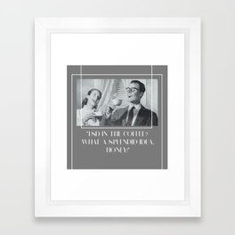 Splendid Idea Framed Art Print