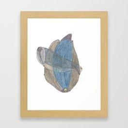 Drawing #19 Framed Art Print