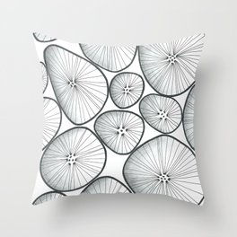 bubles... Throw Pillow