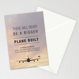 Aeroplane (r)Evolution Stationery Cards