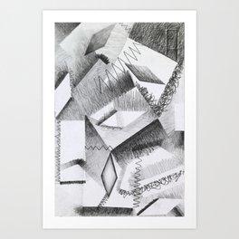 Shaded Shapes 2 Art Print