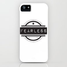 #Fearless Slim Case iPhone (5, 5s)