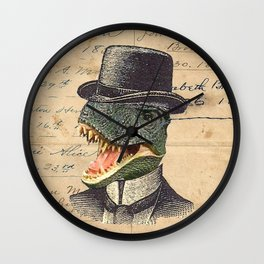 Dino Dandy Wall Clock
