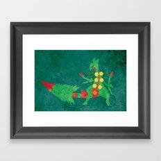 Mega Sceptile Framed Art Print