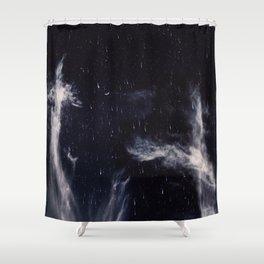 Falling stars II Shower Curtain