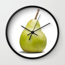 The Perfect Pear Wall Clock