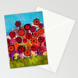 Bloomin Chaos Stationery Cards