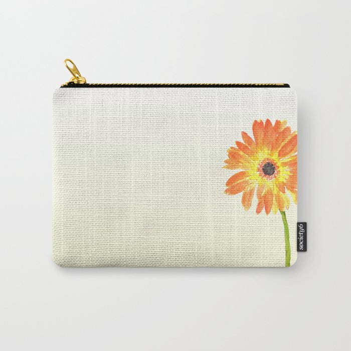 orange gerbera Carry-All Pouch