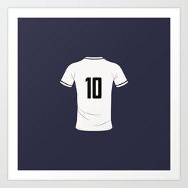 10 camiseta ByN Art Print